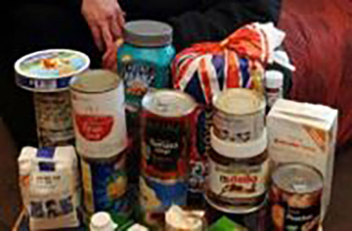 charity food collection